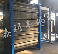 板式换热器生产车间产品