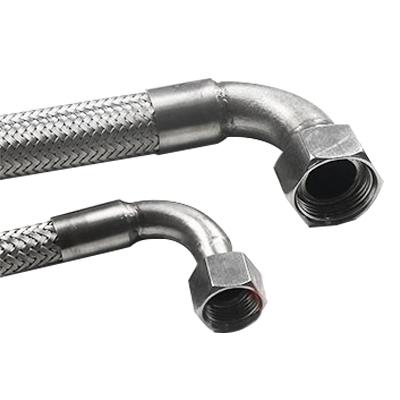 爪型快速连接金属软管